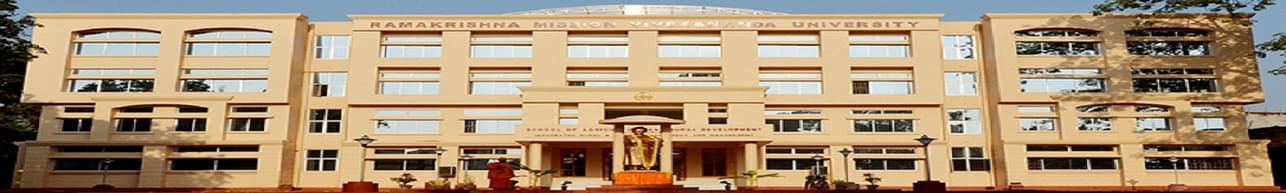 Ramakrishna Mission Vivekananda University - [RKMVU], Belur