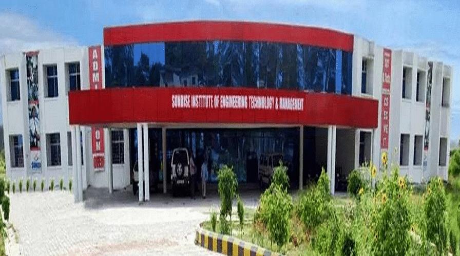 Sunrise Institute of Engineering Technology & Management - [SIETM]