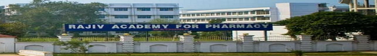Rajiv Academy for Pharmacy - [RAP], Mathura
