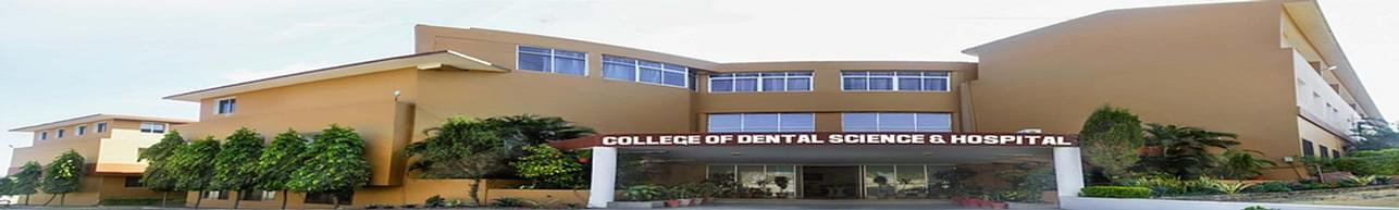 College of Dental Science & Hospital- [CDSH], Indore - Course & Fees Details