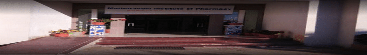Mathuradevi Institute Pharmacy, Indore