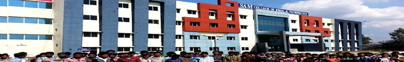 Sam College of Engineering and Technology - [SAMCET], Bhopal