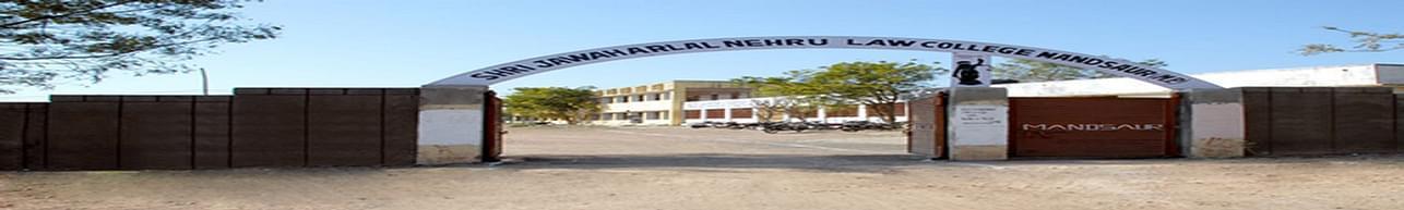 Shri Jawaharlal Nehru Vidhi Mahavidhyalaya, Mandsaur