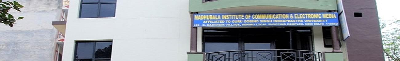 Madhu Bala Institute of Communication & Electronic Media - [MBICEM], New Delhi