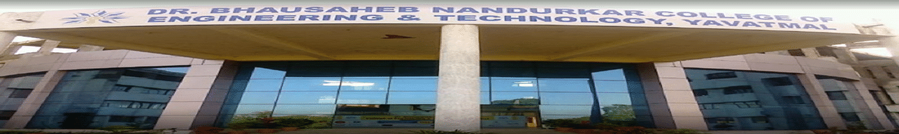Dr. Bhausaheb Nandurkar College of Engineering and Technology - [DBNCOET], Yavatmal