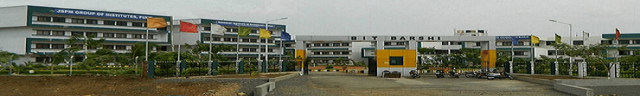 JSPM's Bhagwant Institute of Technology - [BIT], Barshi