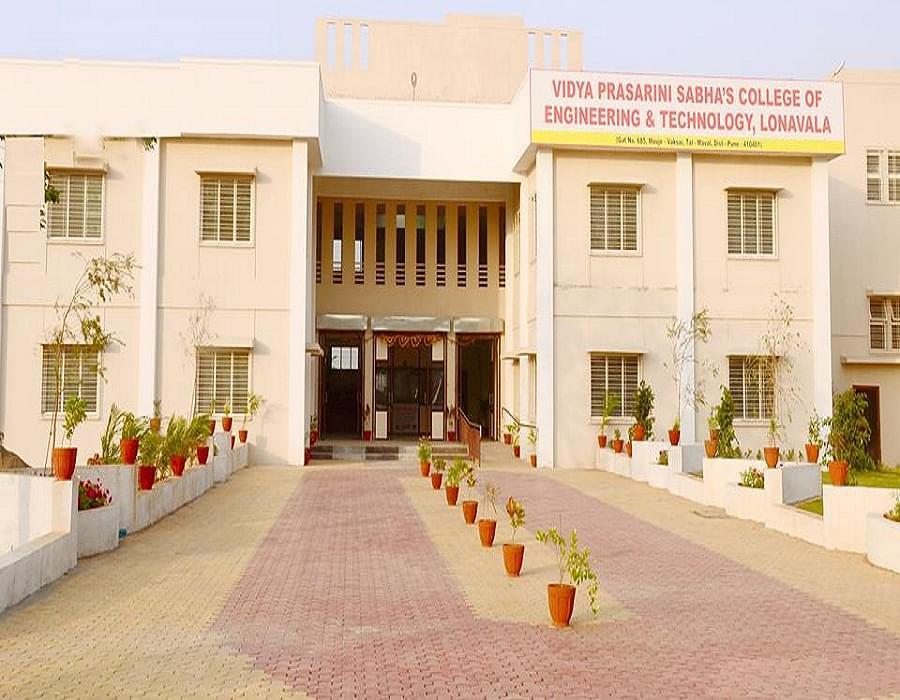 Vidya Prasarini Sabha's College of Engineering & Technology - [VPSCET] Lonavala