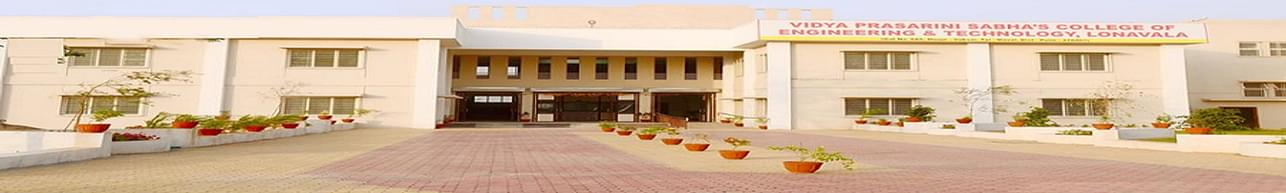 Vidya Prasarini Sabha's College of Engineering & Technology - [VPSCET] Lonavala, Pune