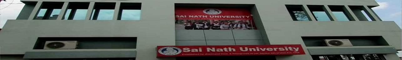 Sai Nath University, Ranchi - List of Professors and Faculty