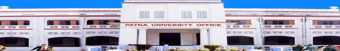 Patna University - [PU], Patna - Course & Fees Details