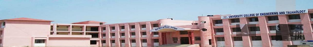 University College of Engineering and Technology, Vinoba Bhave University - [UCET], Hazaribagh - Course & Fees Details