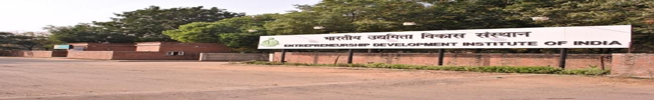 Entrepreneurship Development Institute of India - [EDI], Gandhi Nagar