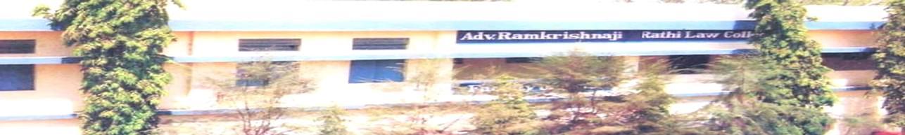 Adv. Ramkrishnaji Rathi Law College, Washim