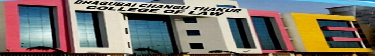 Janardan Bhagat Shikshan Prasarak Sanstha's Bhagubai Changu Thakur College of Law New Panvel, Raigarh