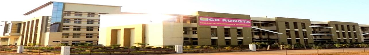 GD Rungta College of Engineering and Technology - [GDRCET], Bhilai