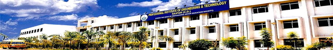 Professional Institute of Engineering and Technology - [PIET], Raipur