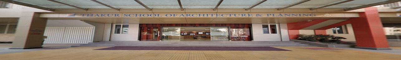 Thakur School of Architecture and Planning - [TSAP], Mumbai