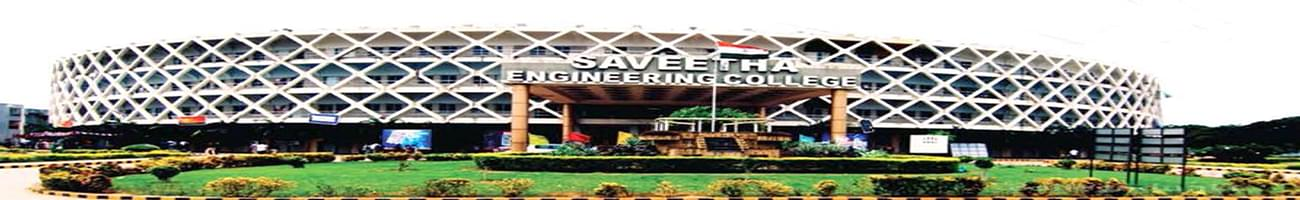 Saveetha Engineering College - [SEC], Chennai