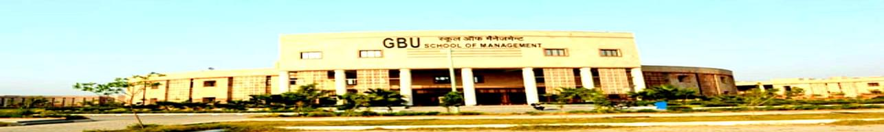 Gautam Buddha University, School of Management, Greater Noida