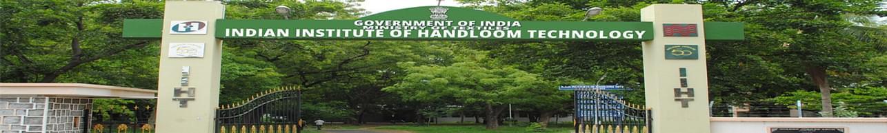Indian Institute of Handloom Technology - [IIHT], Salem