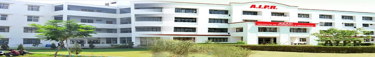 Azad Institute of Pharmacy and Research - [AIPR], Lucknow