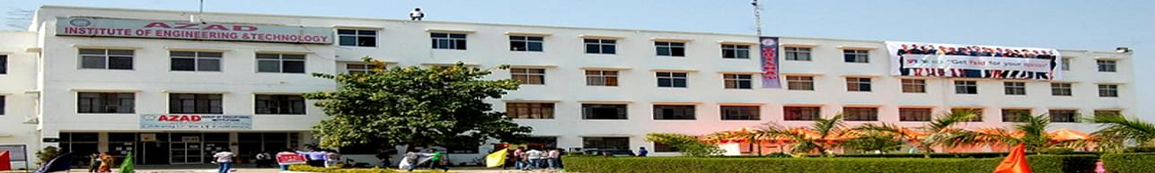 Azad Institute of Engineering and Technology - [AIET], Lucknow