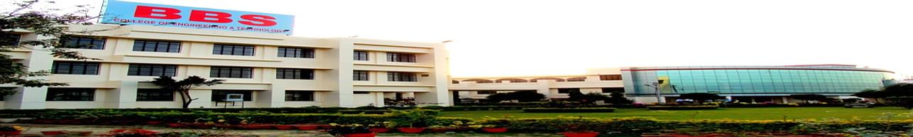 BBS College of Engineering and Technology - [BBSCET], Allahabad