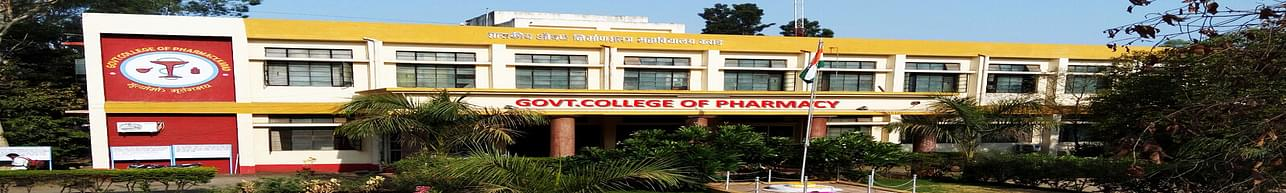 Government College of Pharmacy - [GCOPK], Karad