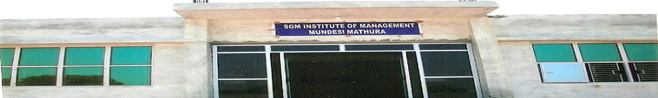 Shri Girraj Maharaj Institute of Management, Mathura - Course & Fees Details
