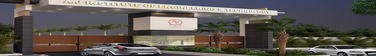 AJ Institute of Engineering and Technology - [AJIET], Mangalore - Course & Fees Details