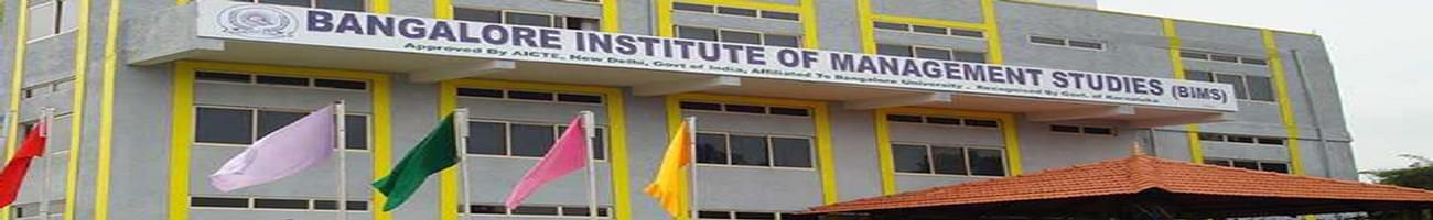 Bangalore Institute of Management Studies - [BIMS], Bangalore