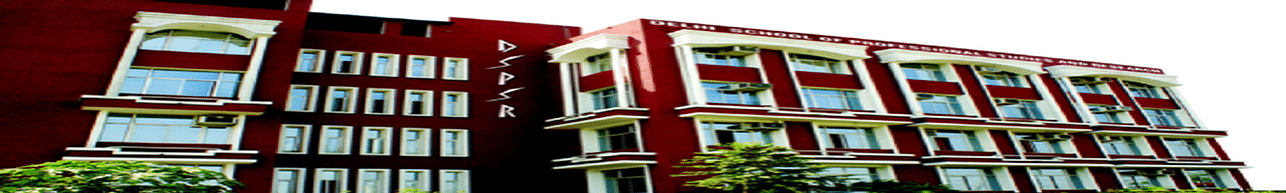 Delhi School of Professional Studies and Research - [DSPSR], New Delhi