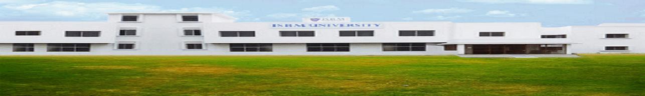 ISBM University, Raipur - Photos & Videos