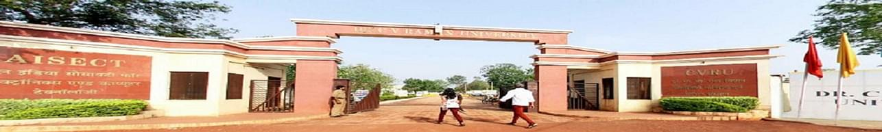 Dr. CV Raman University, Institute of Open and Distance Education, Bilaspur - Placement Details and Companies Visiting