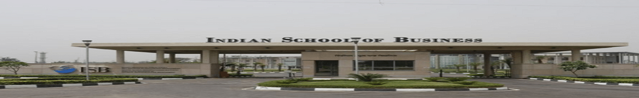 Indian School of Business - [ISB], Mohali