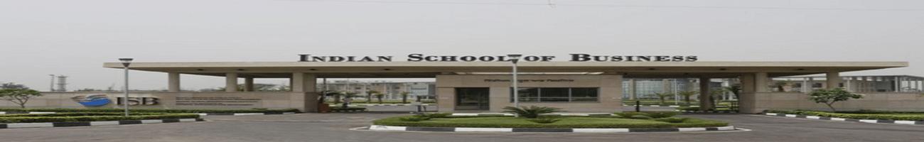 Indian School of Business - [ISB], Hyderabad