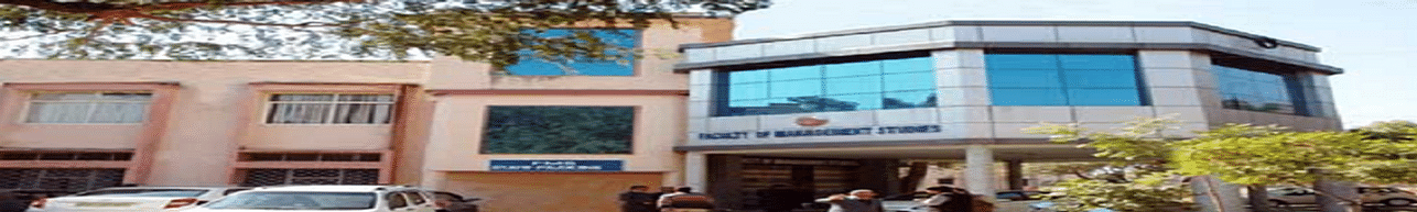 Janardan Rai Nagar Rajasthan Vidyapeeth, Faculty of Management Studies- [FMS], Udaipur