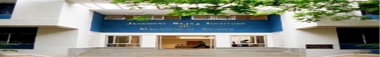 Jankidevi Bajaj Institute of Management Studies - [JDBIMS], Mumbai
