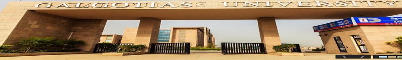 Galgotias University, School of Law - [GUSOL], Greater Noida