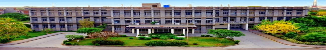 JCD Institute of Business Management, Sirsa