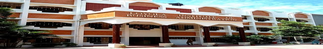 Loyola Institute of Business Administration - [LIBA], Chennai