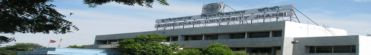 Bundelkhand University, Jhansi - Course & Fees Details