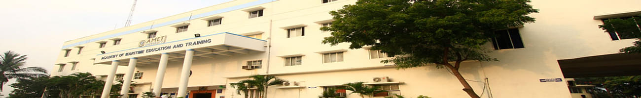 Academy of Maritime Education and Training University - [AMET], Chennai