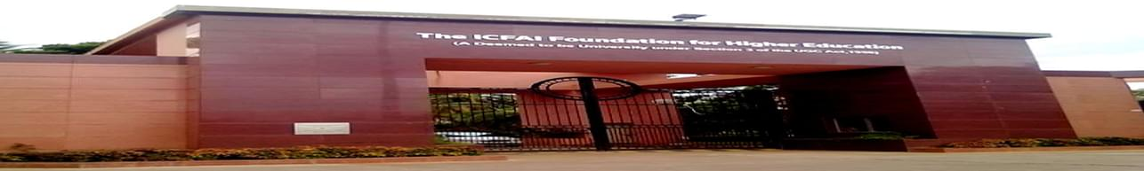 ICFAI Foundation for Higher Education - [IFHE], Hyderabad