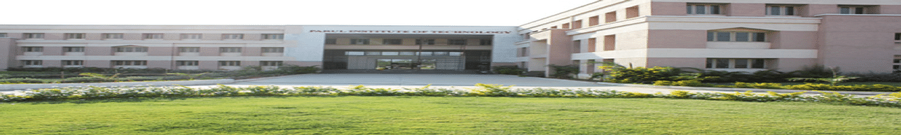Parul Institute of Technology, Vadodara