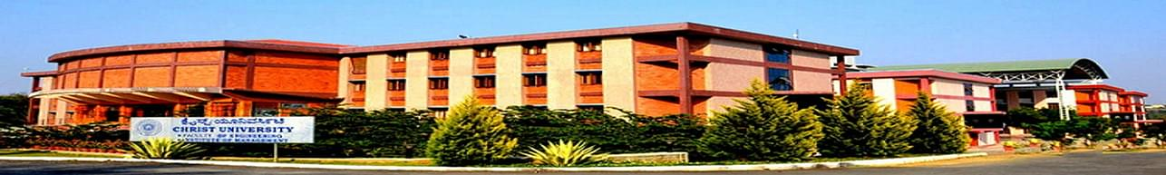 Christ University, Bangalore - Course & Fees Details