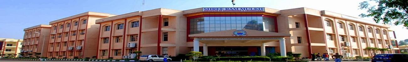 Shree Ram Mulkh Institute of Engineering and Technology - [SRMIET], Ambala