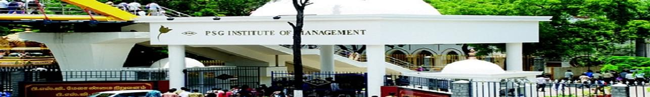 PSG Institute of Management - [PSGIM], Coimbatore - Cutoff Details