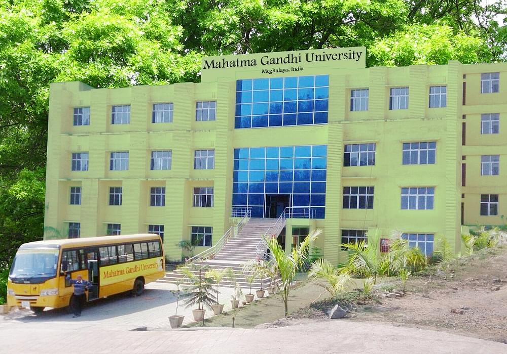 Mahatma Gandhi University, Meghalaya Admission 2019: Courses