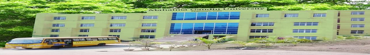 Mahatma Gandhi University - [MGU], Ri-Bhoi